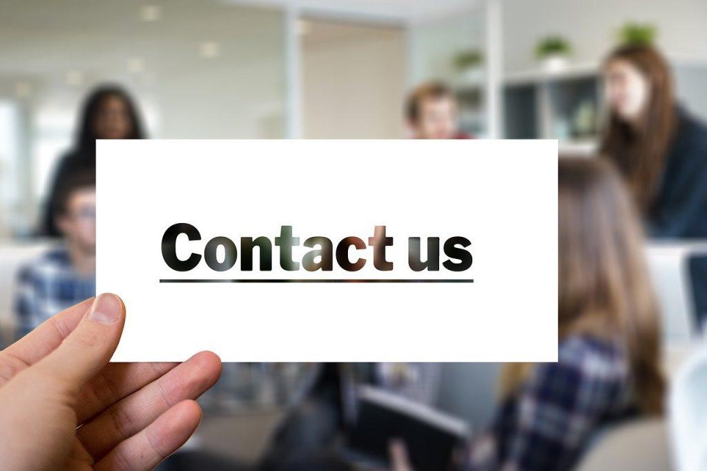 contact, visit, letters